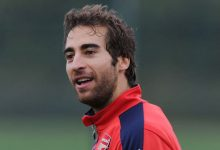 Mathieu Flamini saves the world during his free time